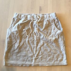 Sonoma beige heathered skirt